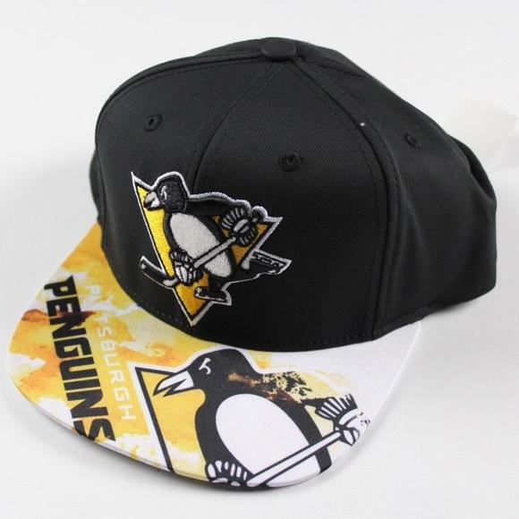 adidas Other - Adidas Pittsburgh Penguins Hockey Snapback Hat 8b481d59f1ac